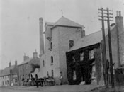 Eagle Pub and Eaton Socon Brewery around 1900