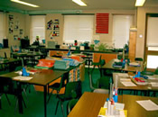 One of the Newer Classrooms - Bushmead Juniors 2002