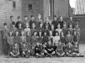 Schoolchildren from Eaton Socon School